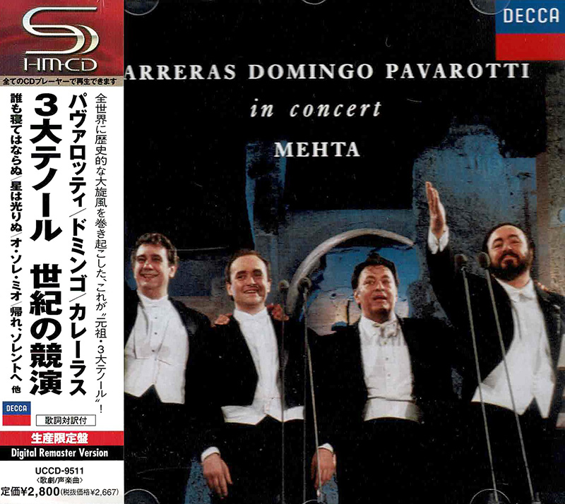 Live - Three Tenors - In Concert