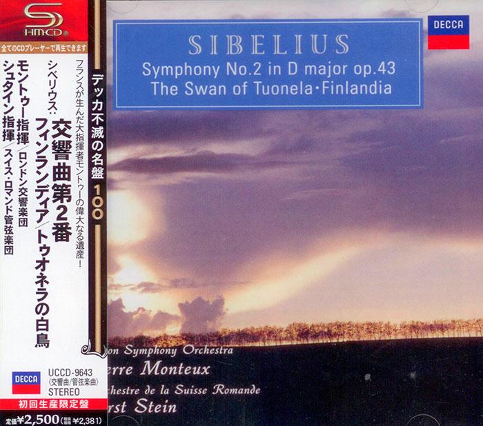 Symphony No. 2, The Swan of Tuonela, Finlandia
