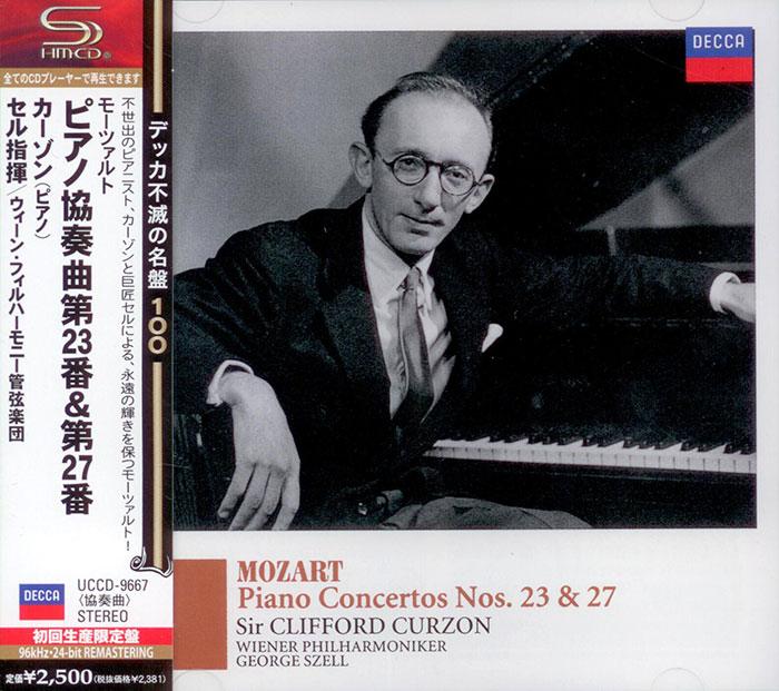 Piano Concerto 23 and 27
