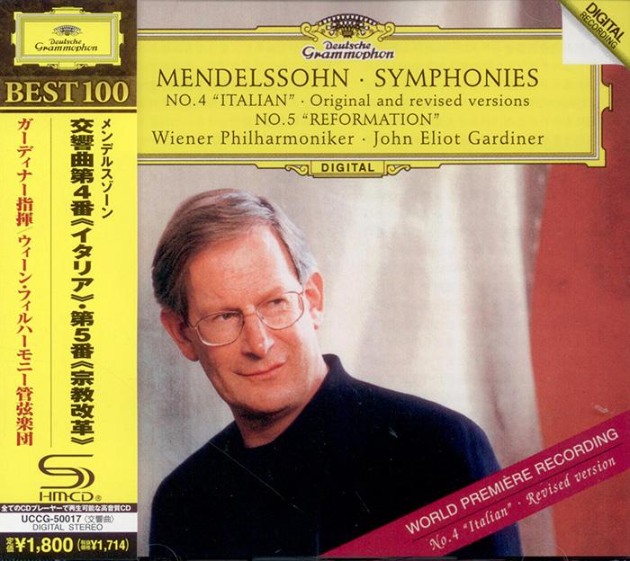 Symphonies No. 4 'Italian' - Original and Revised Versions / Symphony No. 5 'Reformation'