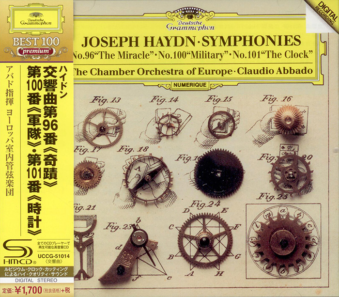 Symphony No.96 'The Miracle' / Symphony No.93 / Symphony No.101 'The Clock' image