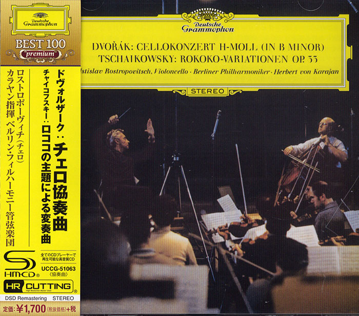 Concerto for Cello & Orchestra / Variations on a Rococo Theme