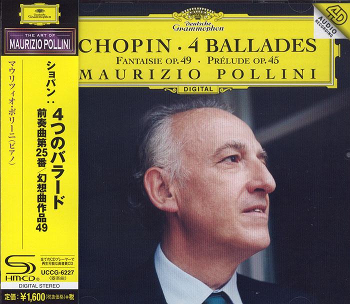 4 Ballades / Fantaisie op. 49 / Prélude op. 45