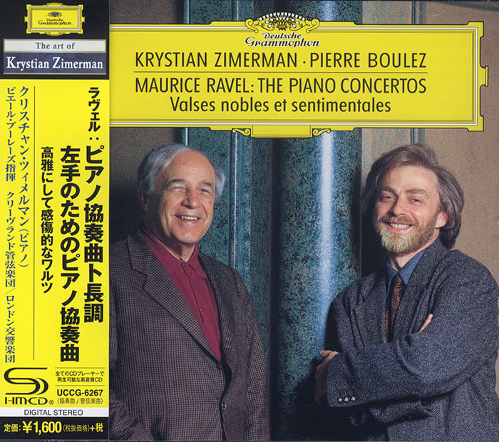 The Piano Concertos / Valses nobles et sentimentales