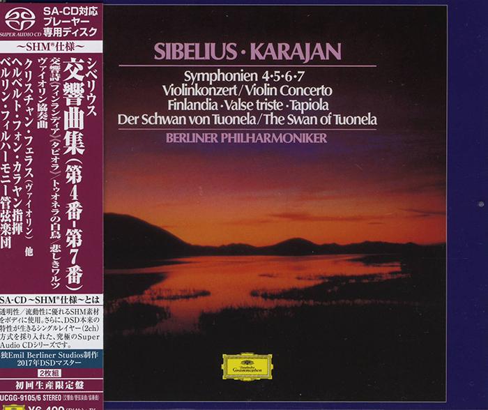 Symphonien  4, 5, 6, 7 / Violin Concerto / Finlandia / Tapiola