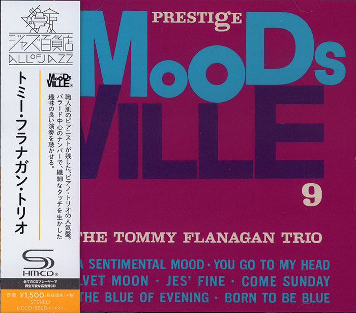 Prestige Moodsville 9 - The Tommy Flanagan Trio