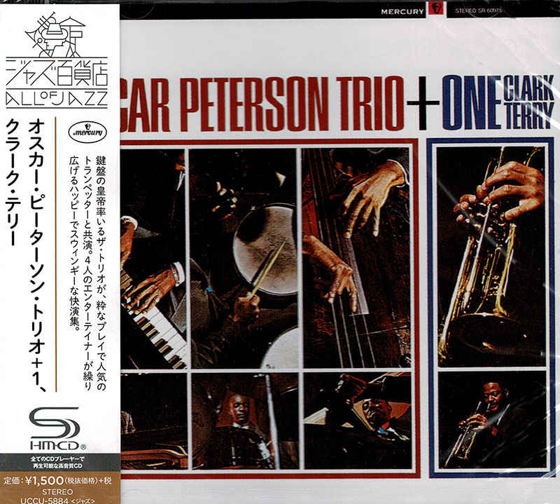 Oscar Peterson Trio + One: Clark Terry image