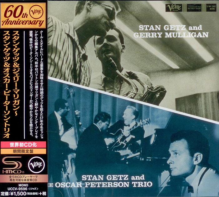Getz and Gerry Mulligan and the Oscar Peterson Trio
