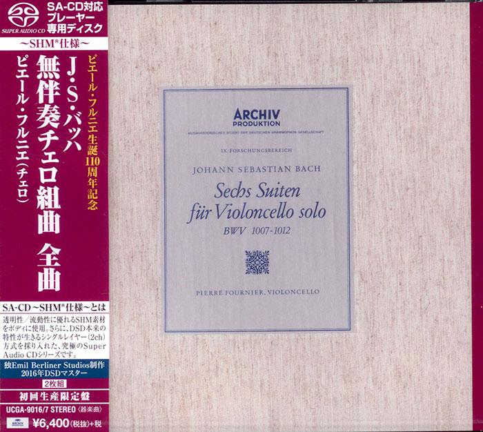 Sechs Suiten fur Violoncello solo