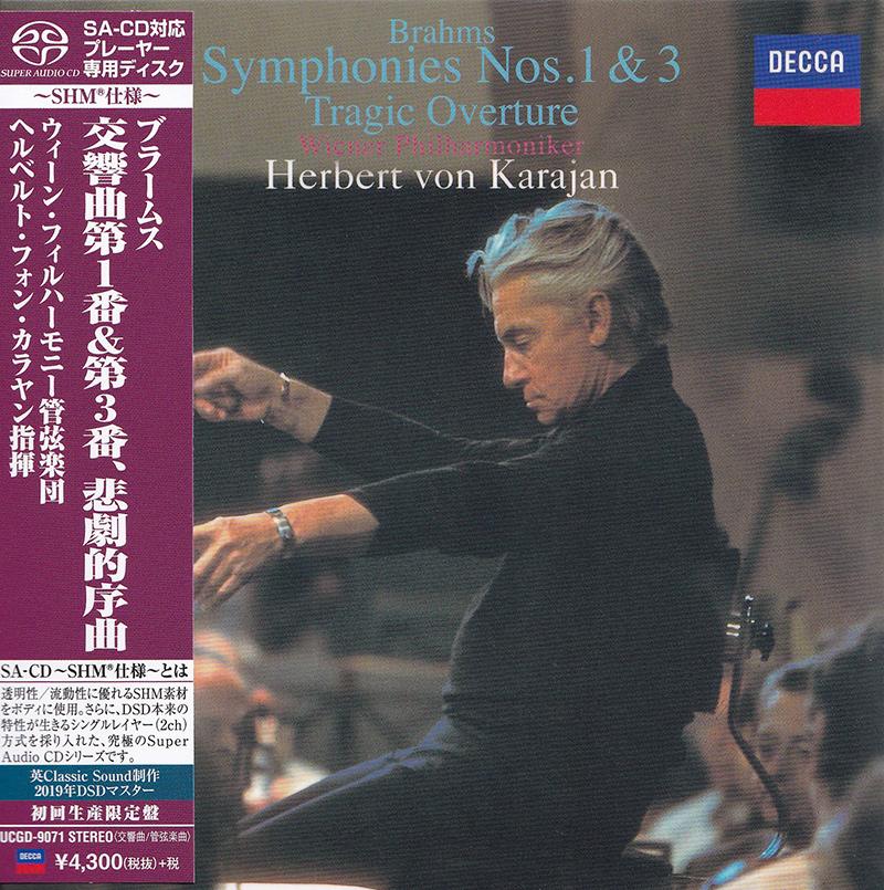 Symphonies Nos. 1 & 3 / Tragic Overture