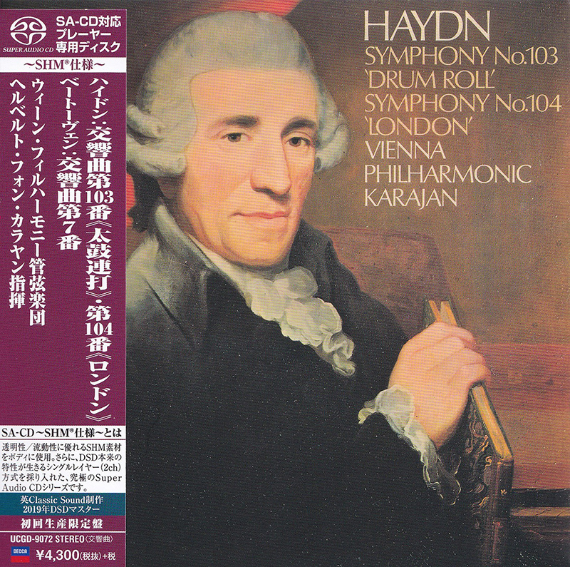 Symphony No. 103 'Drum Roll' / Symphony No. 104 'London' / Symphony No. 7 in A major, op. 9