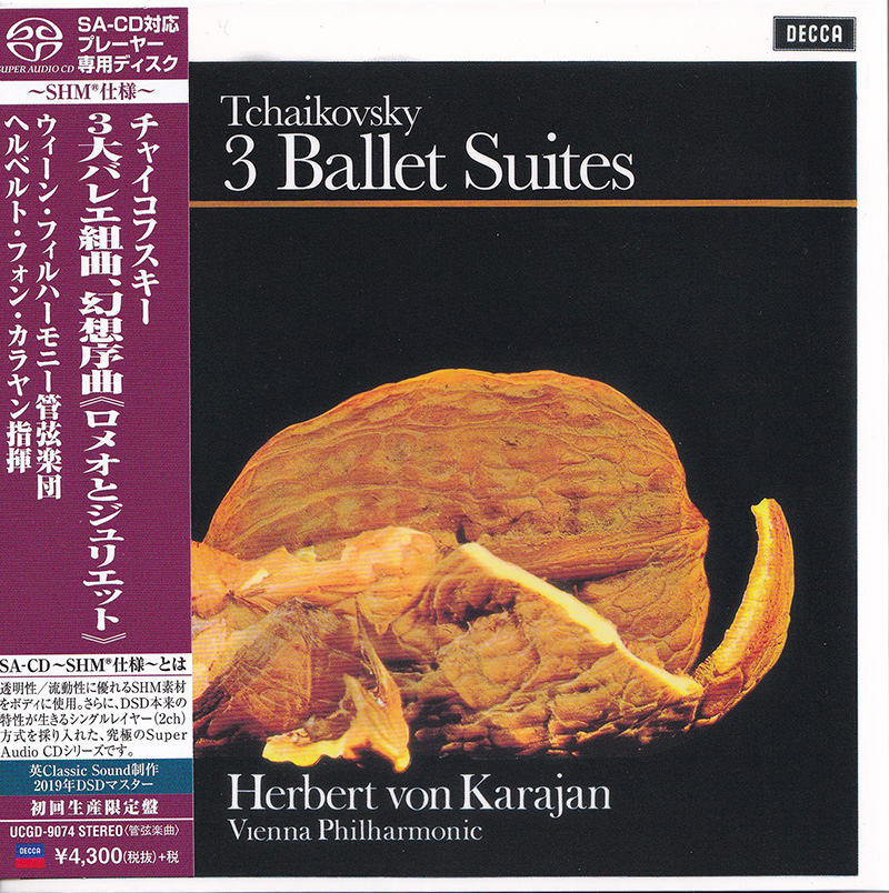 3 Ballet Suites: Romeo and Juliet / Nutcracker, / Swan Lake