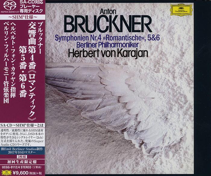 Symphonien Nr. 4 'Romantische', 5 & 6