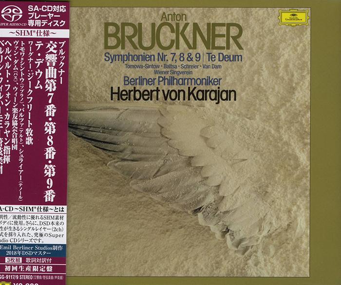 Symphonien Nr. 7, 8 & 9 / Te Deum
