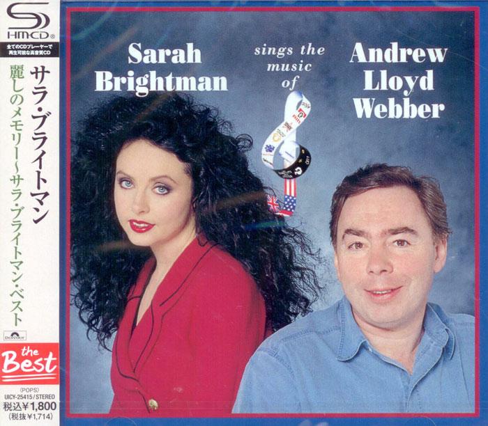 Sarah Brightman Sings The Music Of Andrew Lloyd Webber