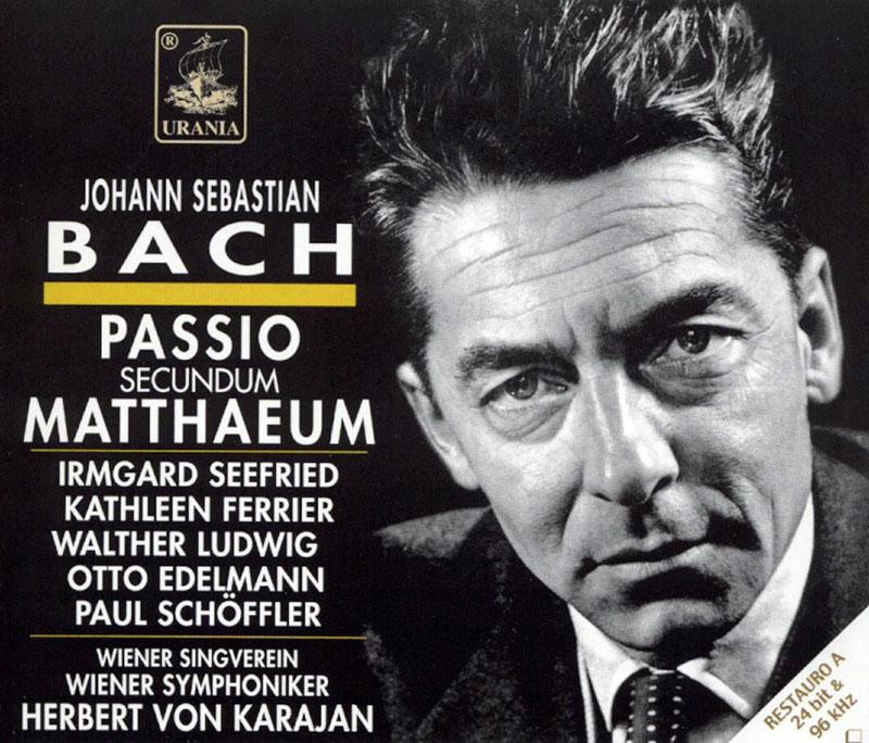 Passio Secundum Matthaeum, BWV 244 / St Matthew Passion
