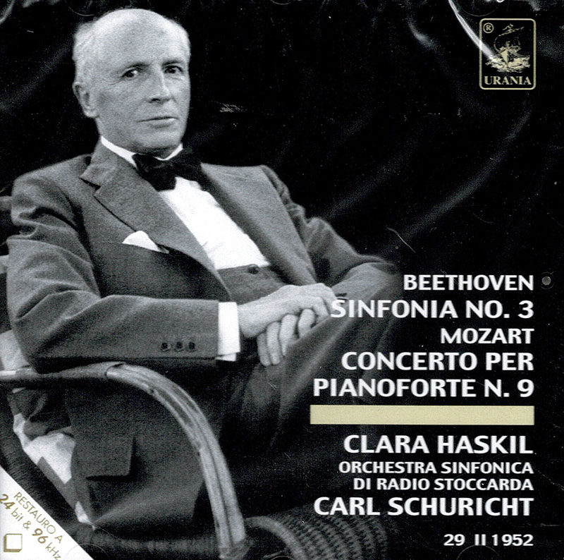 Piano Concerto No. 9 in E-flat major / Symphony No. 3 in E flat major, Op. 55 'Eroica'
