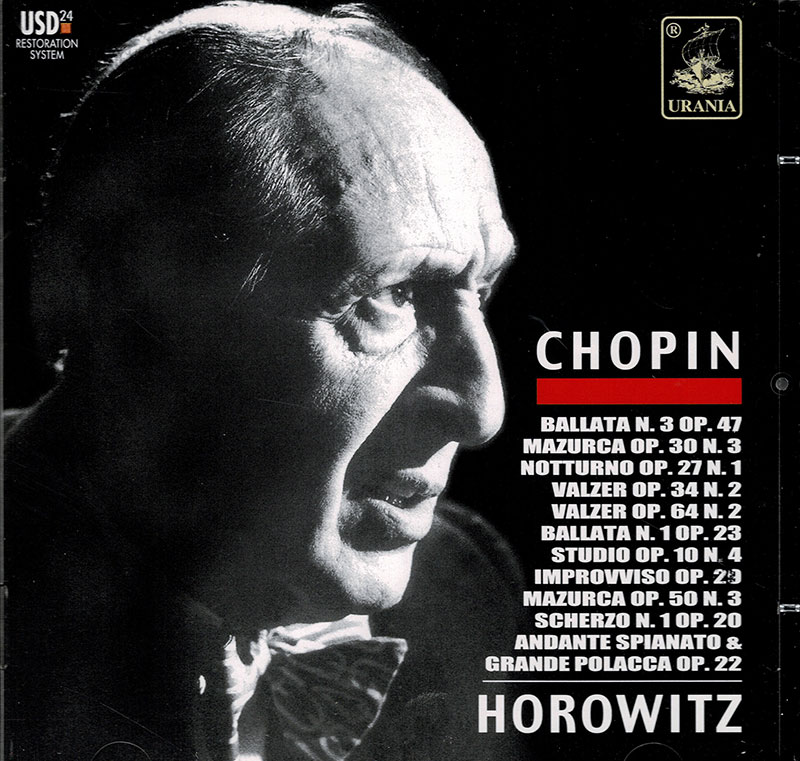 Horowitz Performs Chopin