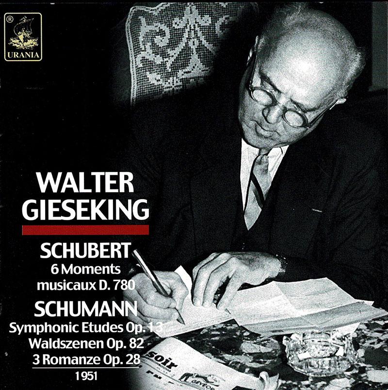 Waldszenen / Etude Symphonique / Moment musicaux