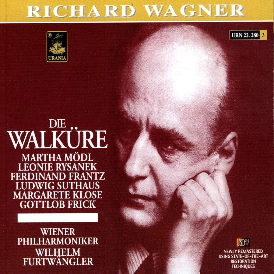 Die Walkure - Live  Vienna, Austria 1954