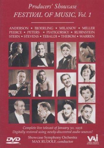 Festival of Music, Volume 1 - DVD - Blanche Thebom, Mildred Miller, Gregor Piatigorsky, Marian Ander