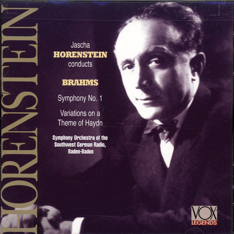 Symphony no 1 / Variations in B flat major on a theme by Haydn