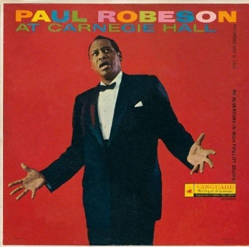 Paul Robeson at Carenegie Hall