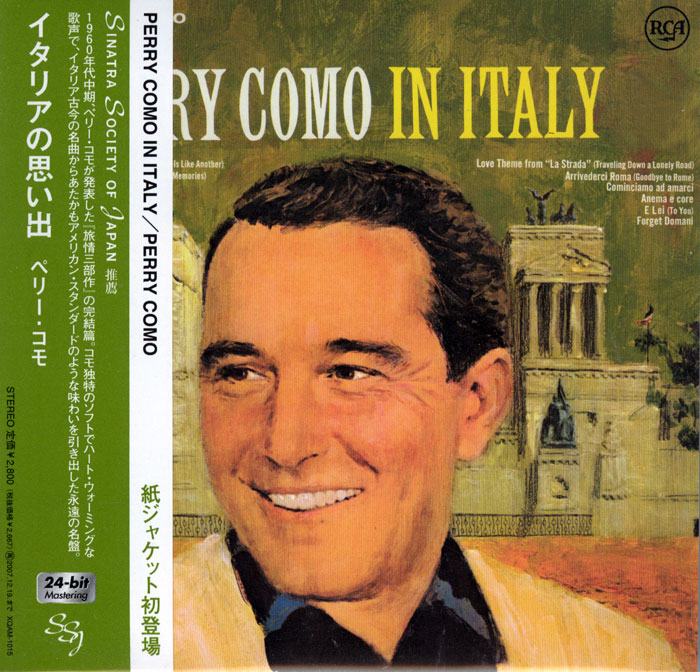 Perry Como in Italy image