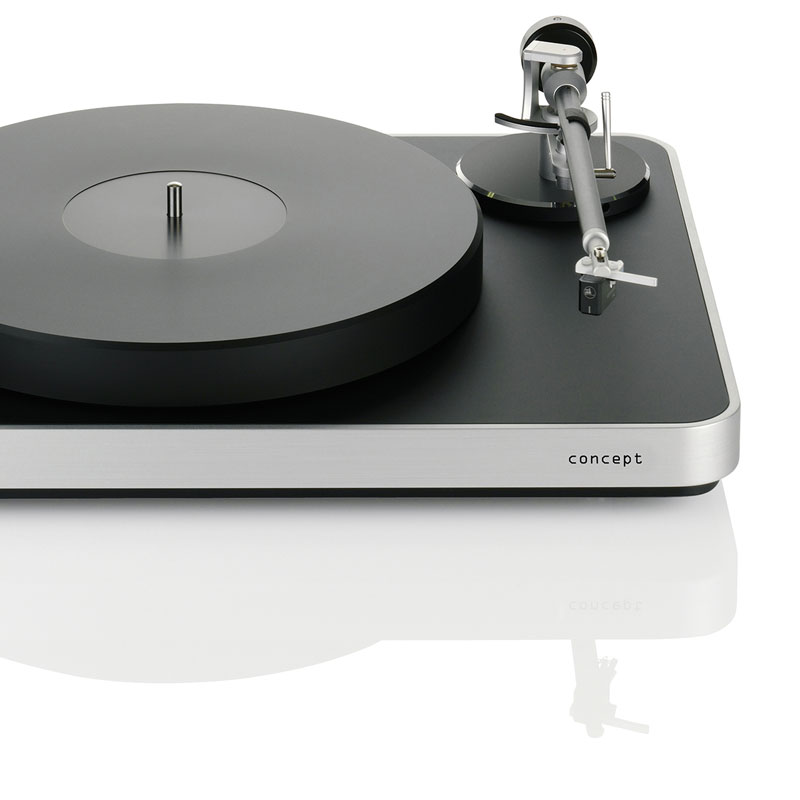 Concept - gramofon 'ready to use'