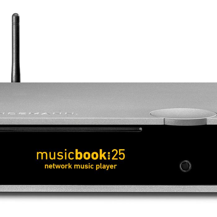 Sieciowy odtwarzacz muzyki - musicbook:25
