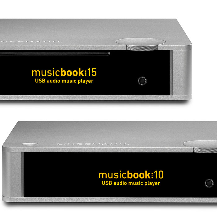 Cyfrowo analogowy przetwornik USB z odczytem DSD - musicbook:10/15