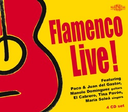 FLAMENCO LIVE! - 4 CD  W CENIE 3 CD!!!