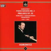 8 Preludes Op.38 / Etudes, Livre I / Etincelles Op.36 / Cindarella, Op.95
